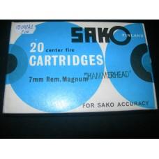 Metak Karabinski 7mm MER.MAG SAKO hammerhead