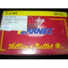 Metak karabinski Sellier&Bellot-Barnes  cal. 7x64