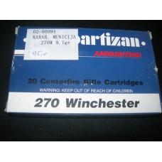 Metak karabinski .270 Winchester Prvi  Partizan