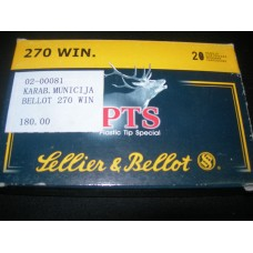 Metak karabinski .270 Winchester Sellier&Bellot