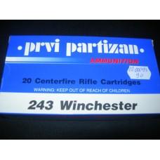 Metak Karabinski .243 Winchester Prvi Partizan