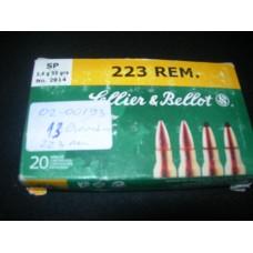 Metak Karabinski .223 Remington Sellier&Bellot