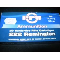 Metak Karabinski .222 Remington Prvi Partizan