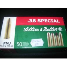 Metak Revolverski .38 special Sellier & Bellot
