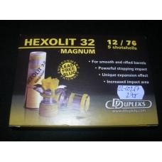 Jedinicni projektil 12/76 Hexolit 32 Magnum DDUPLEX