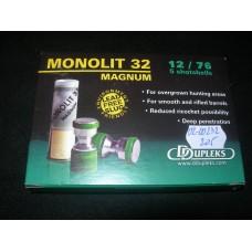 Jedinicni projektil 12/76 monolit 32 Magnum DDUPLEX