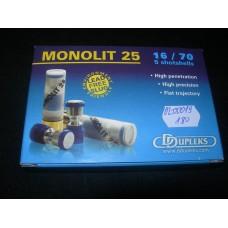 Jedinicni projektil 16/70 Monolit  25 DDUPLEX