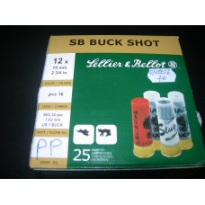Metak sacmeni 12/70 SB Buck Shot 16pcs 7,62 mm