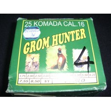 Metak sacmeni Grom Hunter 16/70 4,5 mm