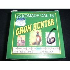 Metak sacmeni Grom Hunter 16/70 4,0 mm