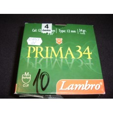 Metak sacmeni Lambro Prima 12/70 3,1 mm